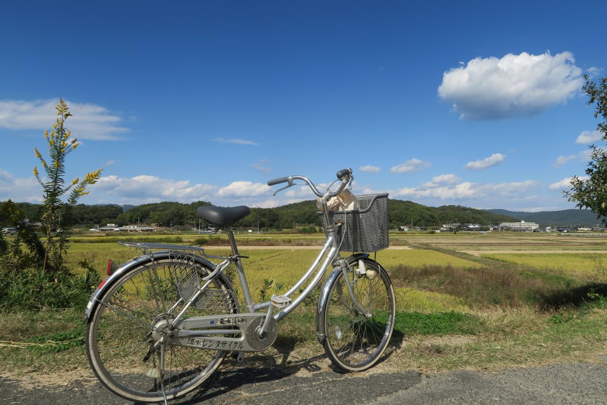 徒歩二時間 自転車